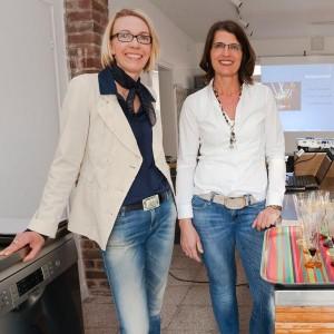 Angela Berg und Dr. Eva Buß - es kann losgehen!
