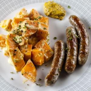 PSS_SuesskartoffelnBratwurst
